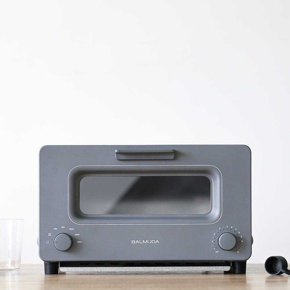 ★官網註冊送麵包刀 BALMUDA The Toaster 蒸氣烤麵包機 K01D-GW (灰) 百慕達 烤土司神器 公司貨 K01J