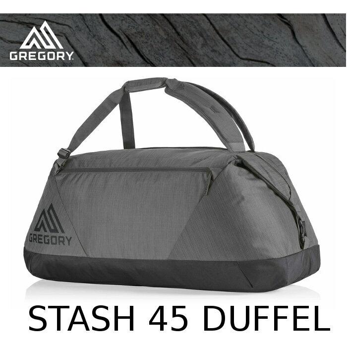 【速捷戶外】美國 GREGORY新款 Stash Duffel 65L(陰影黑) 專業輕量多功能裝備袋.旅行袋 65900
