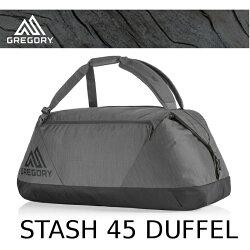 【速捷戶外】美國 GREGORY新款 Stash Duffel 45L(陰影黑) 專業輕量多功能裝備袋.旅行袋 658994518