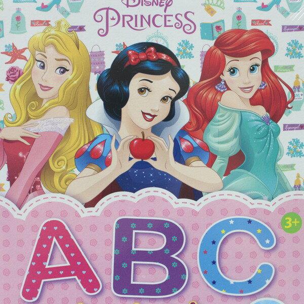 迪士尼公主 ABC認知卡 RD001C / 一盒36張入 { 定160 }  學習卡 教材教具圖卡 正版授權 2