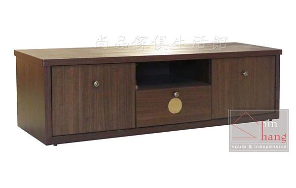 【尚品傢俱】816-01 羅德里 五尺胡桃電視櫃~另有3尺、4尺、6尺/客廳櫃/收納櫃/TV櫃