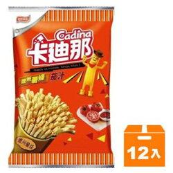 聯華 卡迪那 德州薯條茄汁 76g (12入)/箱