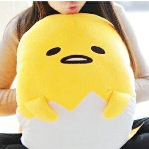 美麗大街【105031806】大型18吋蛋黃哥造型手插枕 抱枕玩偶