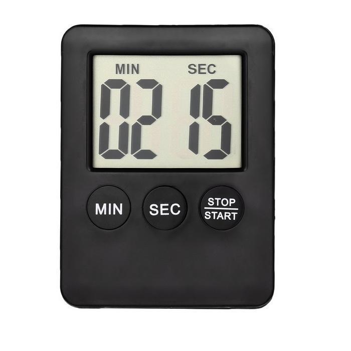 Digital LCD Timer Cooking Clock Alarm 0