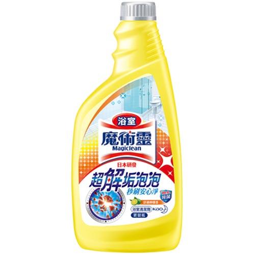 魔術靈 浴室清潔劑 舒適檸檬香 更替瓶 500ml