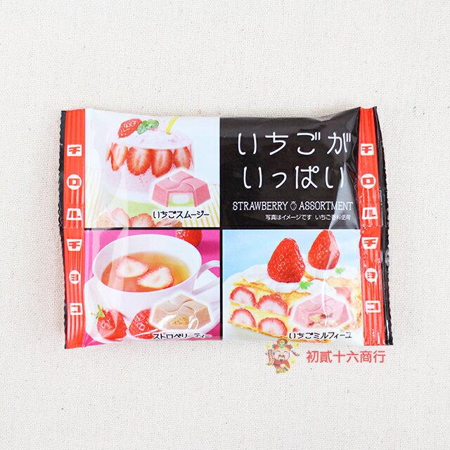 【0216零食會社】日本松尾_草莓綜合巧克力44.3g