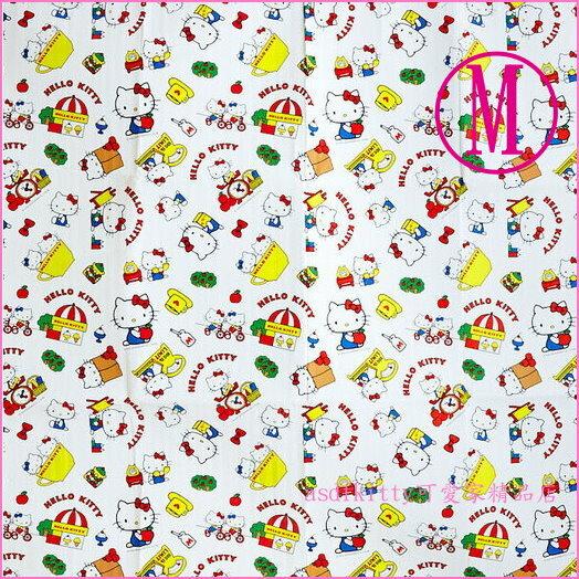 asdfkitty可愛家☆KITTY多人版野餐墊-M號-90*180公分-厚鋁箔材質-日本正版商品
