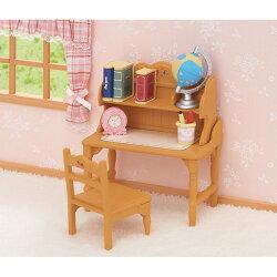 【Fun心玩】EP28770 麗嬰 日本 EPOCH 森林家族 書桌組(不含玩偶) 玩具 家家酒 聖誕 生日 禮物