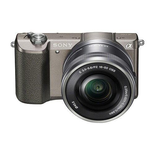 SONY單眼ILCE-5100L/T A5100 棕 變焦鏡組【愛買】