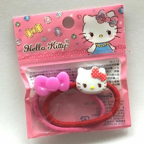【真愛日本】17052300020 兩入小髮束-KT頭蝴蝶結 三麗鷗 Hello Kitty 凱蒂貓 髮束 髮圈