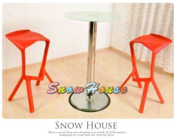 ╭☆雪之屋居家生活館☆╯AA909-08 723電鍍吧檯桌(噴砂強化玻璃)/ 餐桌/酒吧桌/高腳桌/玻璃桌