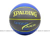 《下殺6折》Shoestw【SPA7451-】 斯伯丁籃球 SPALDING Cross Over 室內外籃球 2款顏色(藍/灰)(藍/綠) 0