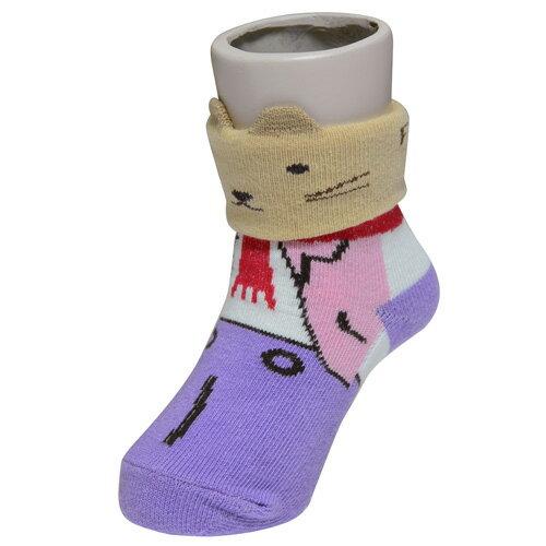 『121婦嬰用品館』狐狸村 哈維鼠造型短筒襪 (7-9cm) 1