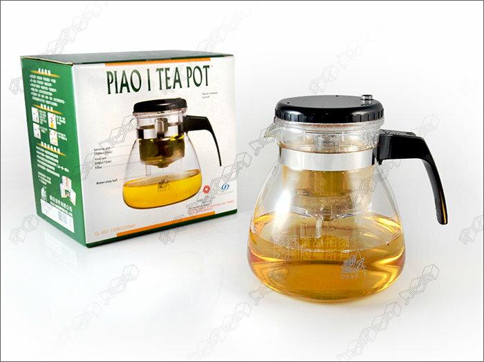 快樂屋? [贈杯墊] 飄逸杯壺 1500cc 沖茶壺/花茶壺/咖啡壺/玻璃壺