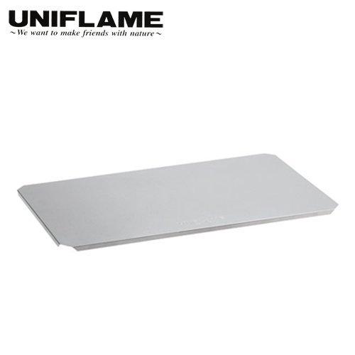 ├登山樂┤日本 UNIFLAME 不鏽鋼頂板 搭配611630摺疊置物網架使用 #U611647