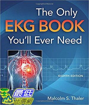 106美國暢銷醫學書籍  The Only EKG Book You #x27 ll E