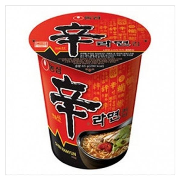韓新館:農心辛(風味)拉麵-杯麵65g