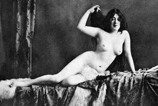 Nude Bather 1905 NAfter The Bath Nude Study 1905 By An Unidentified American Photographer Rolled Canvas Art - (24 x 36) 4dc8a3406e6e0cd6c683d100eebf8a29