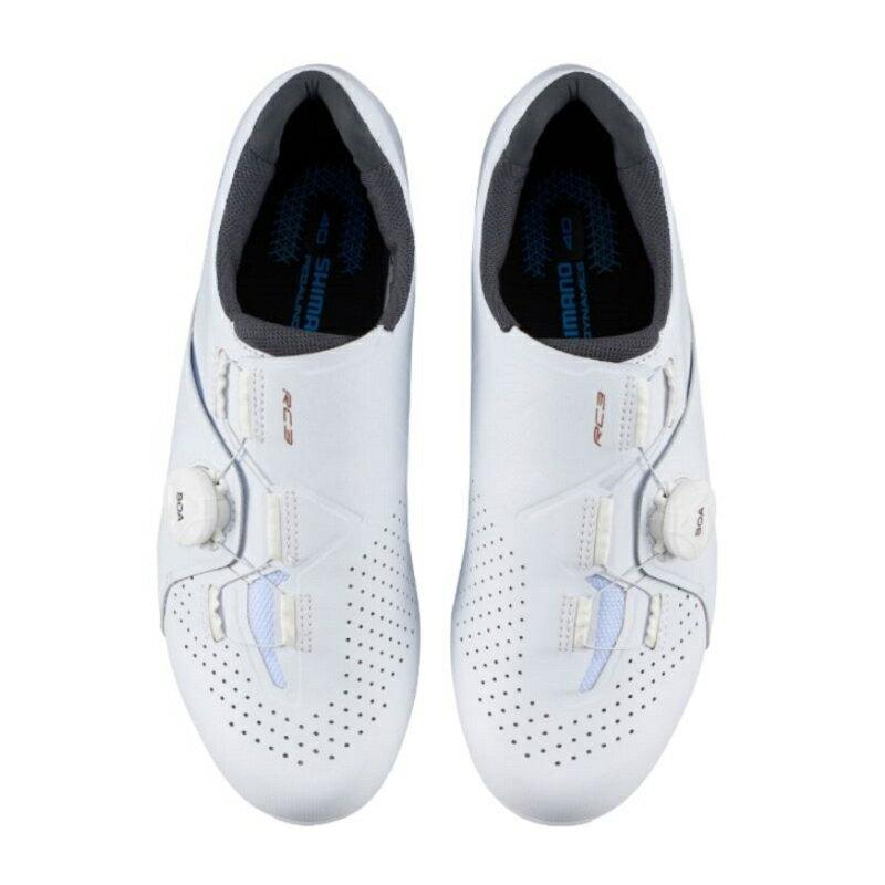 【7號公園自行車】SHIMANO RC3 女性基本款公路車卡鞋(白)