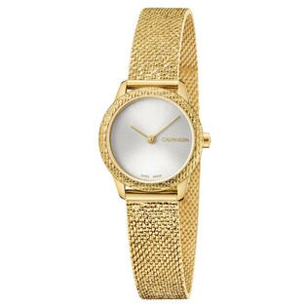 Calvinklein卡文克萊Minimal系列(K3M23V26)簡約重溫復古腕錶金24mm