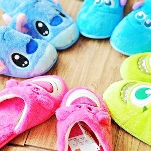 美麗大街【105031803】迪士尼卡通造型室內拖鞋