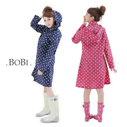 雨衣 點點防水雨衣/風衣外套【EL1005】 BOBI  04/07 - 限時優惠好康折扣