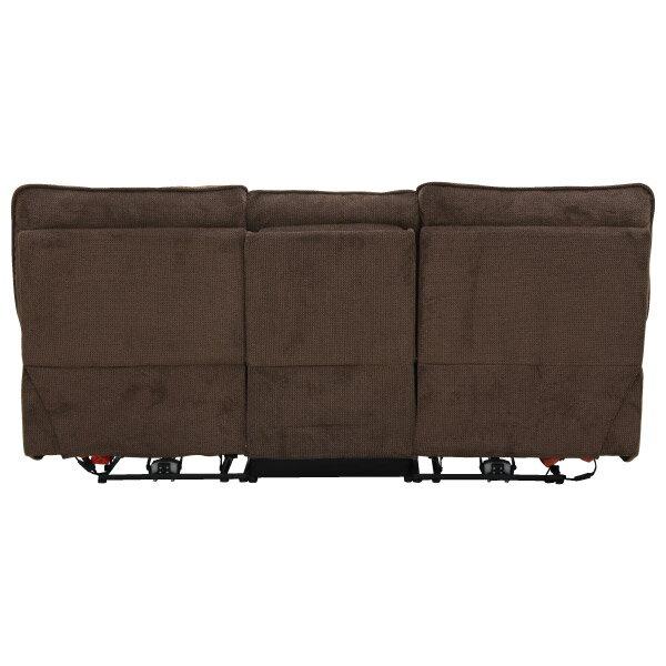 ◎布質3人用電動可躺式沙發 HIT 804 DBR NITORI宜得利家居 4