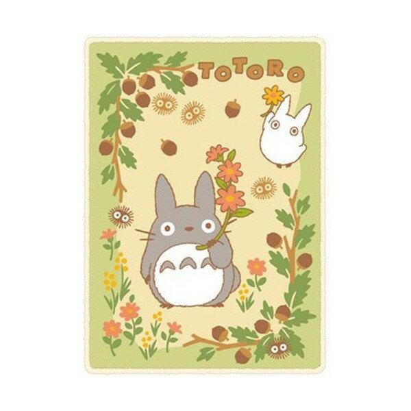 真愛日本:【真愛日本】17091400025滾毛邊毛毯100*140-明天灰白龍貓龍貓TOTORO豆豆龍冷氣毯懶人毯