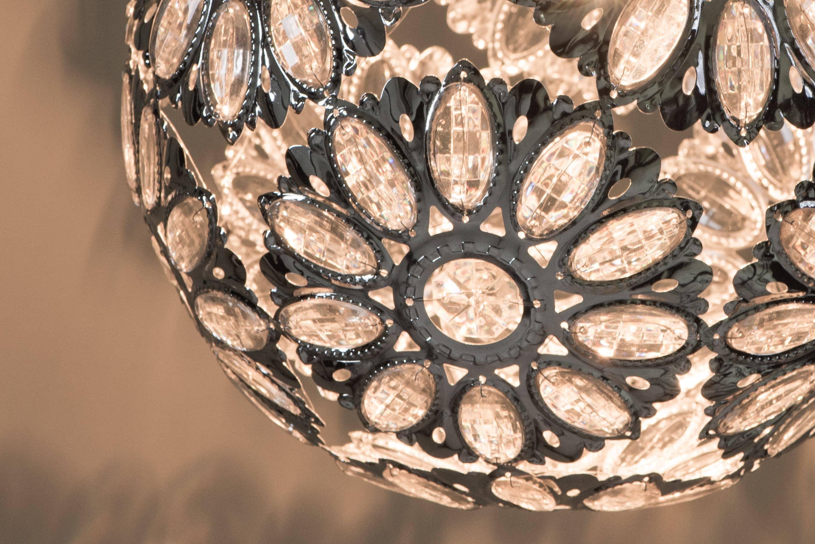 鍍鉻波斯蘭菊吊燈-BNL00086 1