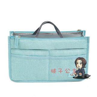 包中包 內膽包撐內襯包托特袋分隔小包 包內袋膽拉鍊收納整理超輕 6色