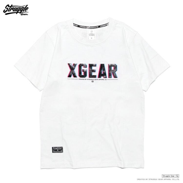 【StruggleGear】XGEAR視覺TEE「白色」81606