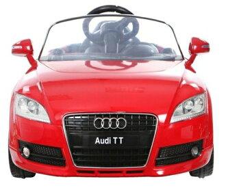奧迪官方授權 AUDI TT 單驅兒童電動車 可做遙控車 紅色
