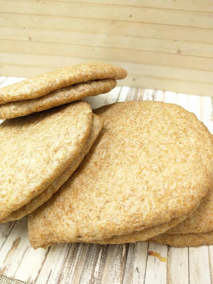 【吉芳包子饅頭】純麥100%無糖刈包皮/10片