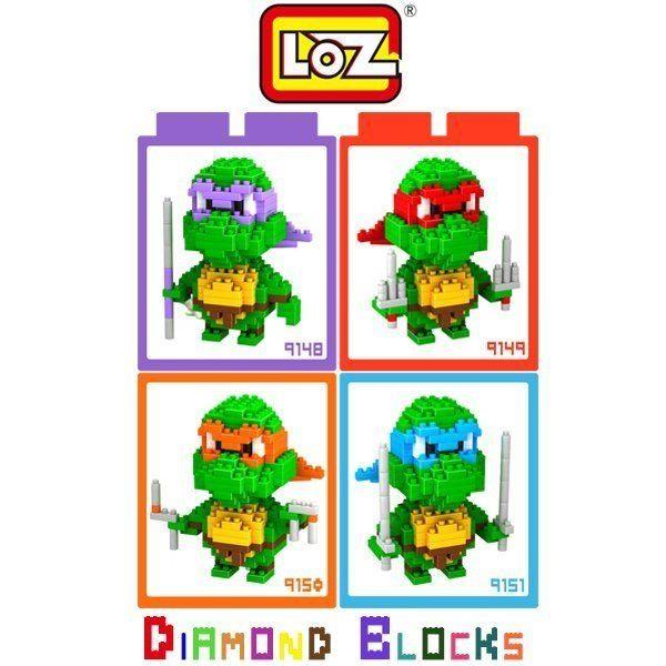 LOZ 迷你鑽石小積木 忍者龜 系列 樂高式 組合玩具 益智玩具 原廠正版 大盒款