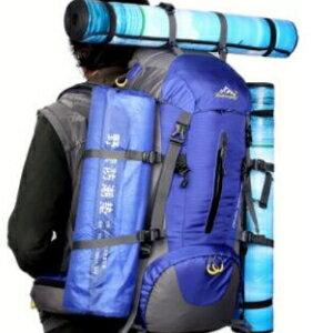 美麗大街【LF0972】戶外專業品牌登山包徒步旅行野營包大容量防雨罩雙肩背包