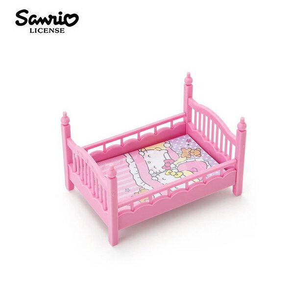 【日本正版】凱蒂貓床型便條盒便條紙紙條收納小物名片架HelloKitty三麗鷗Sanrio-442142