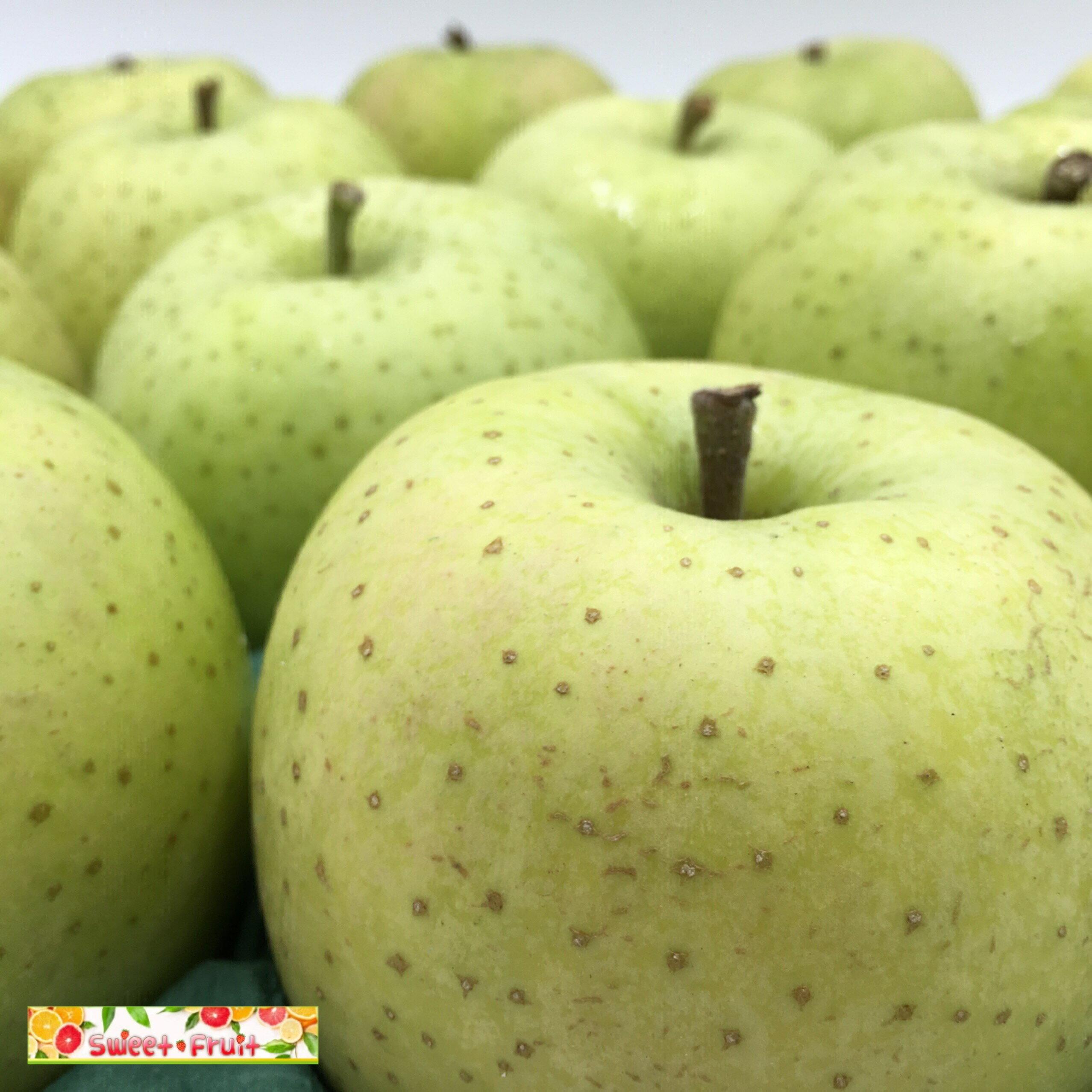 {SWEET FRUIT} 日本青森王林青蘋果 頂級特選 16顆禮盒裝(32顆分裝)堅持最高品質