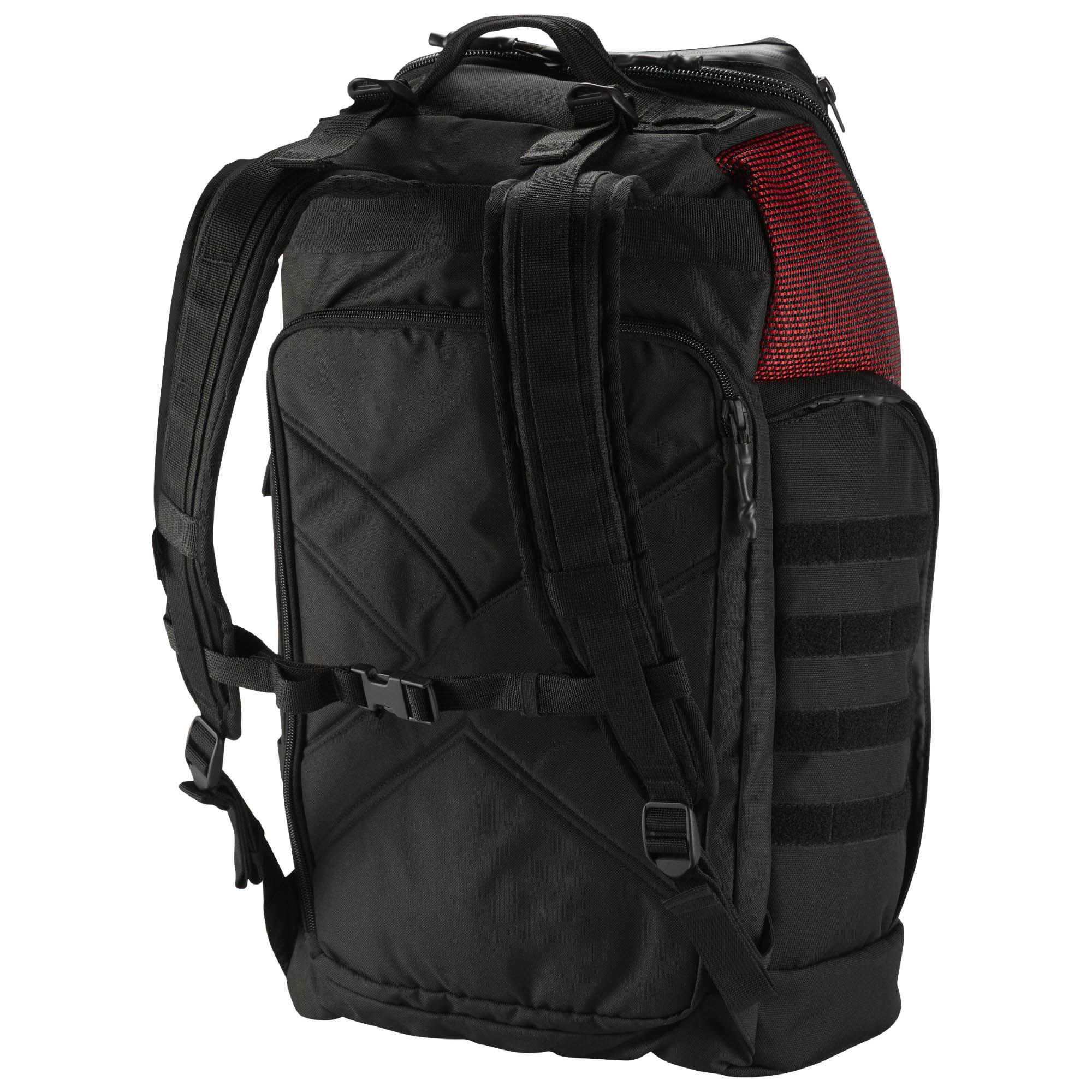 【滿額最高折318】REEBOK CROSSFIT BACKPACK 後背包 雙肩 休閒 運動 筆電 黑 紅【運動世界】CD7259