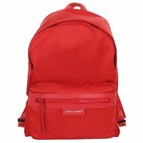 <br/><br/>  【LONGCHAMP】LE PLIAGE NEO 系列  後背包 - 紅色  【全店免運】 ARIBOBO 艾莉波波<br/><br/>