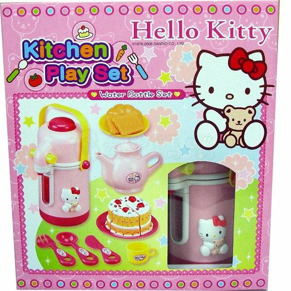 Hello Kitty/家家酒系列/KT貓茶具組【六甲媽咪】(聖誕禮物娃娃)