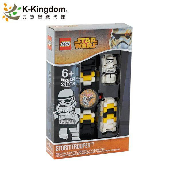 【LEGO 樂高手錶】星際大戰系列 風暴兵 Stormtrooper 8020424