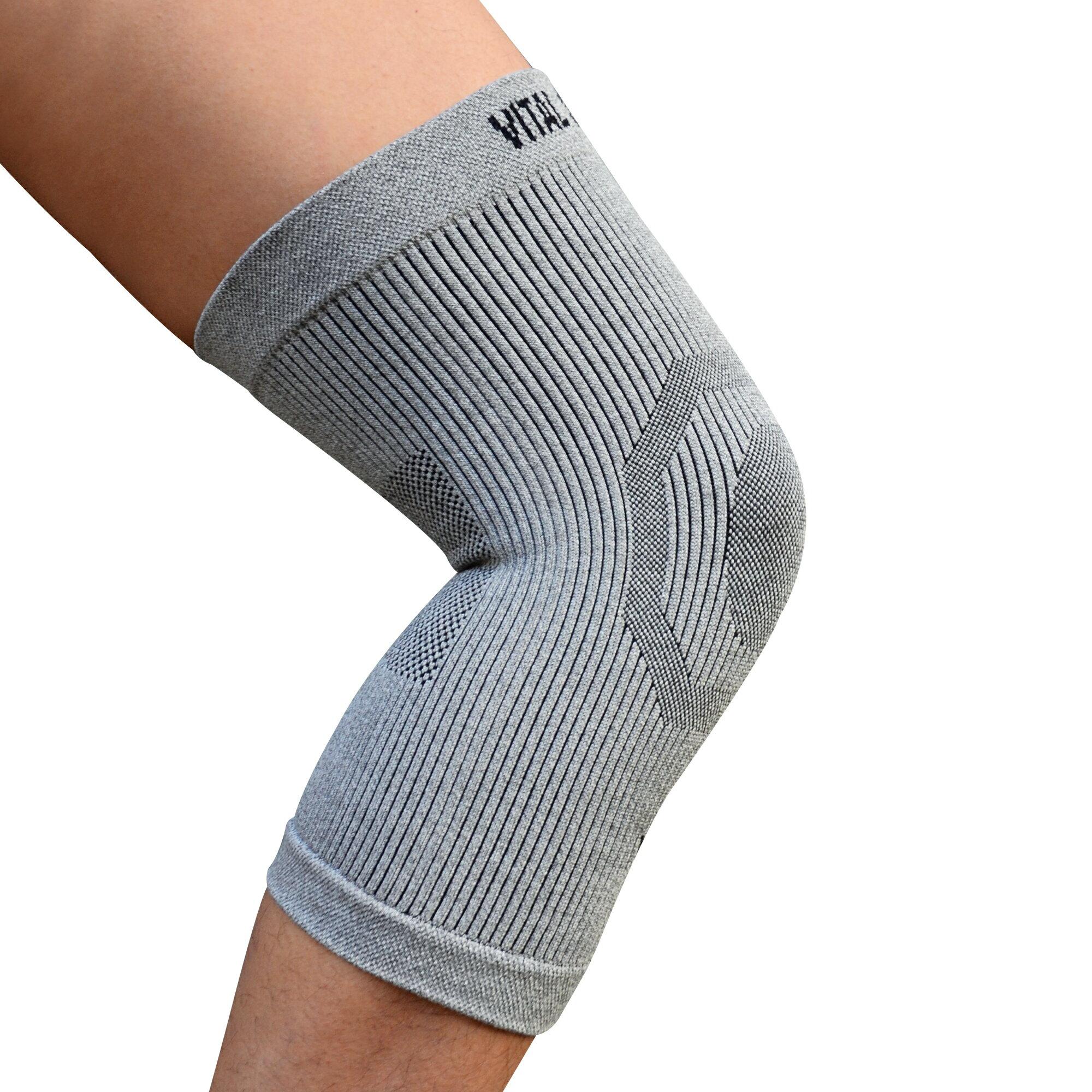 【VITAL SALVEO】運動保健護具 Knee Sleeve C3 防護鍺舒適型護膝(單支)運動防護護具-台灣製造