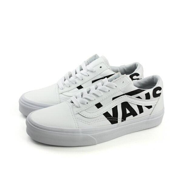 HUMAN PEACE:VANSOldSkool運動鞋帆布鞋白色男鞋73010545no482