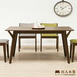 【日本直人木業】WANDER北歐美學150CM餐桌