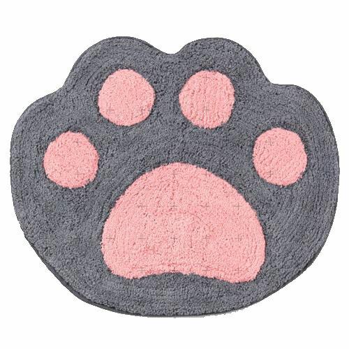 日本貓咪手掌地墊地毯居家黑貓601683代購