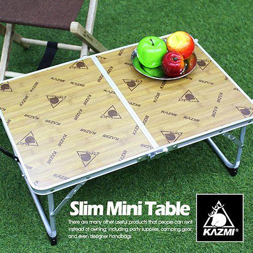 【露營趣】中和 KAZMI K5T3U001 迷你折疊桌 露營桌 小折桌 野餐桌 工具桌