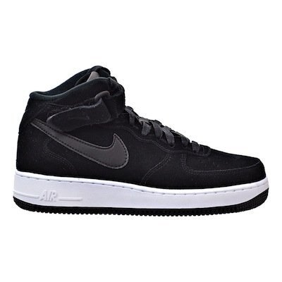 NIKE AIR FORCE 1 MID 黑 白 高筒 女鞋 US 6.5~12 818596-003 D