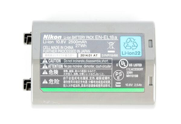 Nikon-Mall:NIKONEN-EL18aENEL18a原廠電池D4S適用