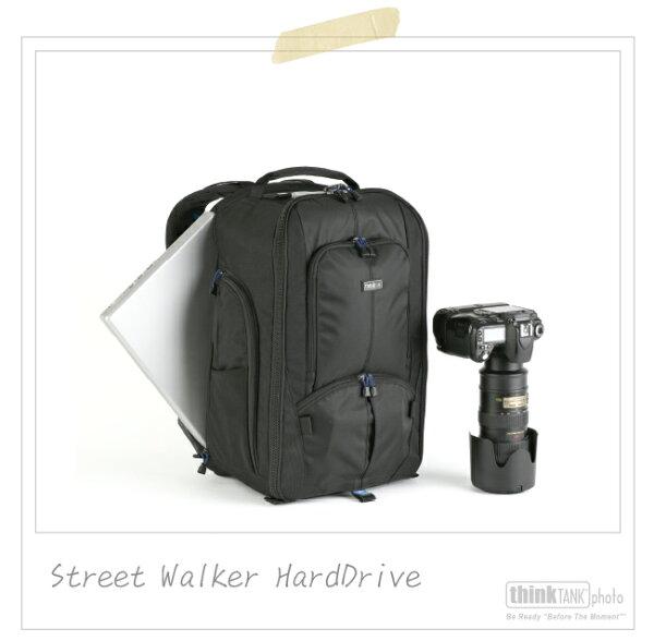 【滿3千,15%點數回饋(1%=1元)】ThinkTankThinkTank創意坦克彩宣公司貨-StreetWalkerHardDrive健行者雙肩後背系列SW480公司貨(SW480)