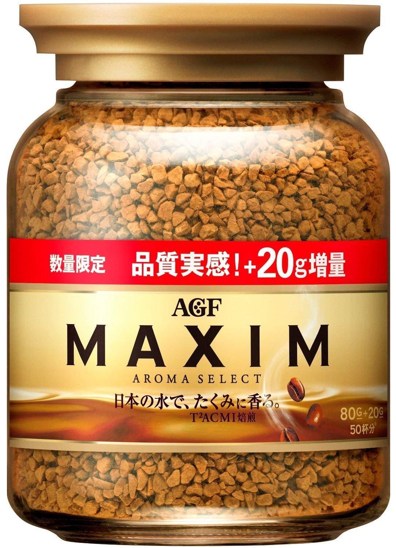 《Chara 微百貨》日本 AGF MAXIM 箴言 咖啡 罐裝 80g 65g 摩卡 深焙 香醇 金色 金咖 特調 1